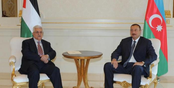 Ilham Aliyev a félicité son homologue palestinien