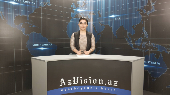 AzVision TV releases new edition of news in English for November 2 -VIDEO