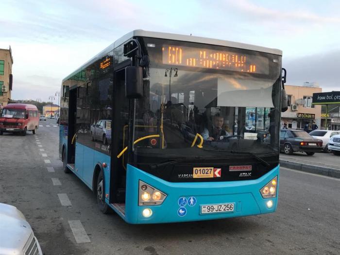 160-ın yeni avtobusları işə başladı - FOTO
