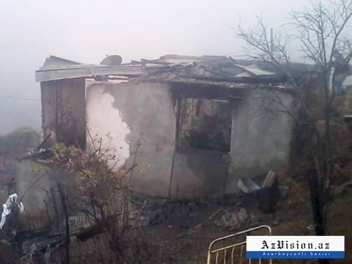 Daşkəsəndə 5 nəfər bu evdə yanaraq ölüb - FOTO