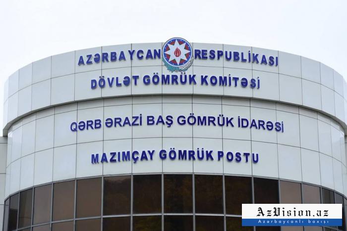 """""""Mazımçay"""" postundan 21 mindən çox nəqliyyat vasitəsi keçib"""