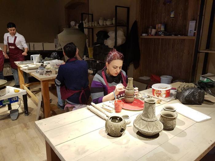 Şəkinin ABADlaşan Keramika Mərkəzi - FOTOLAR
