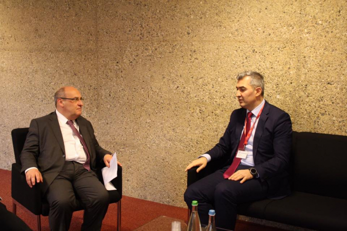 Vüsal Hüseynov Antonio Vitorino ilə görüşüb - FOTO