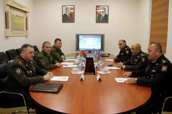 Belarusun hərbi ekspertləri Bakıda