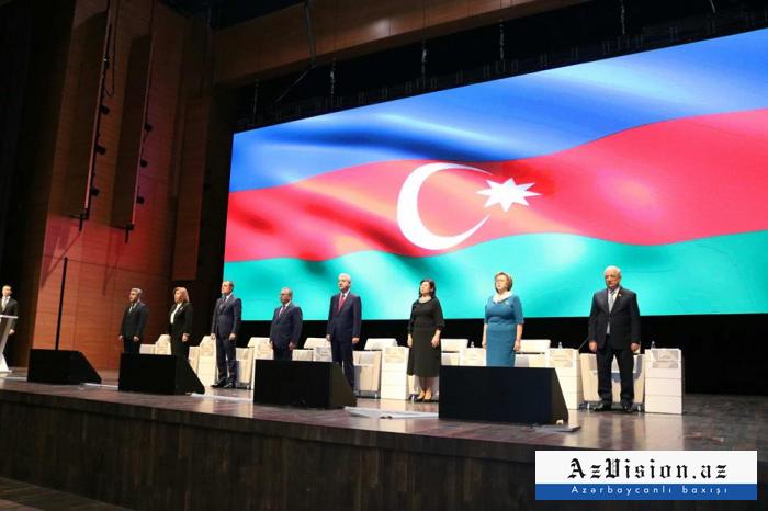 Azərbaycan müəllimlərinin qurultayı keçirildi - Yenilənib (FOTOLAR)