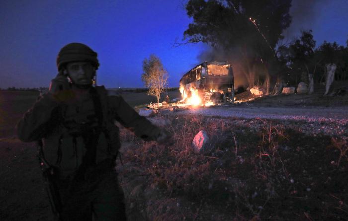 Qəzzadan İsrailə 370 raket atılıb: Ölən və yaralılar var