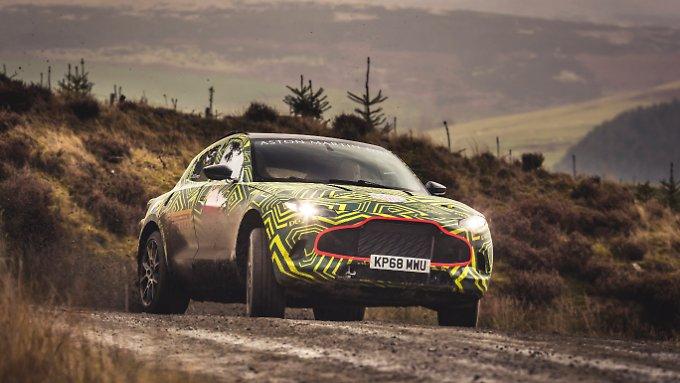 Aston Martin bringt 2020 den DBX