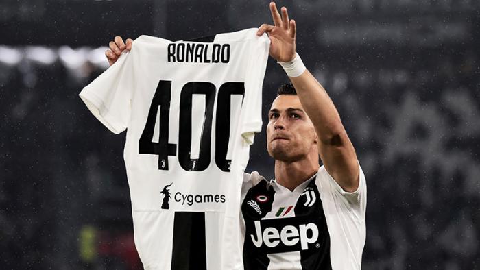 La Juventus rinde homenaje a CR7 por sus 400 goles en ligas europeas (VIDEO)