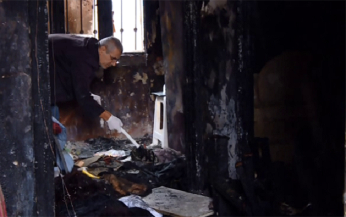 Bakıda qadını öldürüb, evini yandırdılar - VİDEO