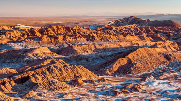 El agua que acaba con la vida en el desierto de Atacama en Chile