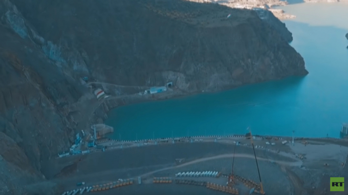 Tajikistan launches first phase of hydro power station dam, set to become world's largest -VIDEO