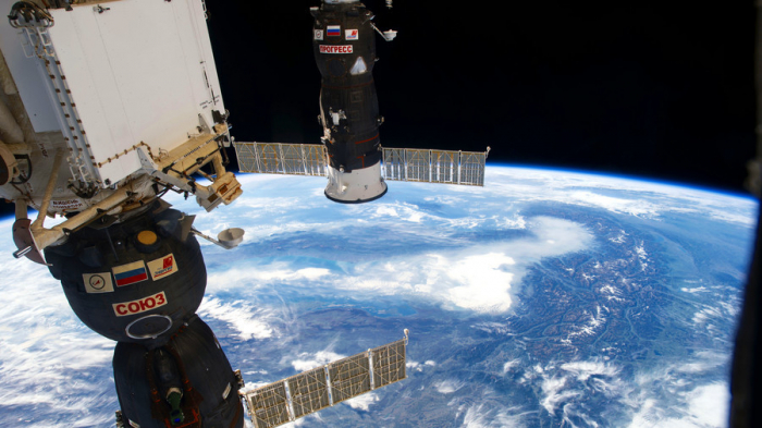 Russia's Progress resupply ship docks at ISS after 2-day flight - VIDEO