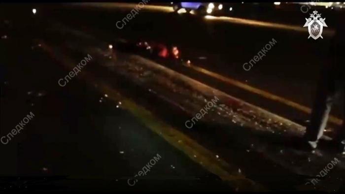 Video muestra restos del hombre que murió atropellado por un avión en Moscú