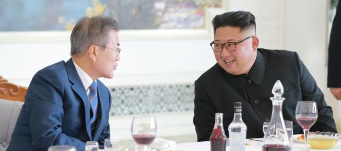هدية جلبها كيم جونغ ليأكلها نظيره الجنوبي..