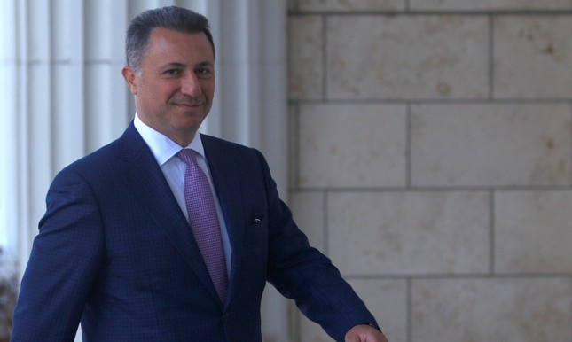Former Macedonian PM flees to Hungary, seeks asylum to avoid jail