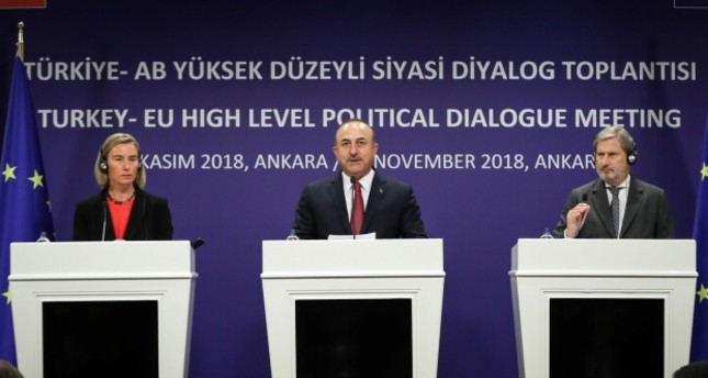 Ankara expects more support from EU against terror, Turkish FM