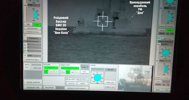 Russia fires on, seizes Ukrainian naval ships in Black Sea