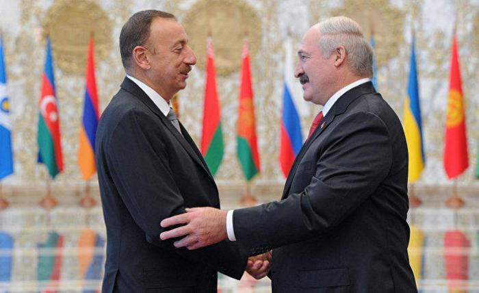 """من لوكاشينكو إلى علييف:""""بيلاروسيا كانت في انتظاركم"""""""