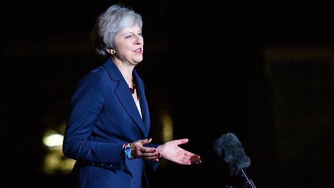 May wirbt im Parlament für Brexit-Entwurf