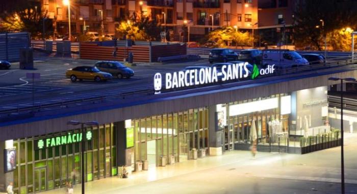 Alerte à la bombe à la gare de Barcelona Sants, deux trains évacués