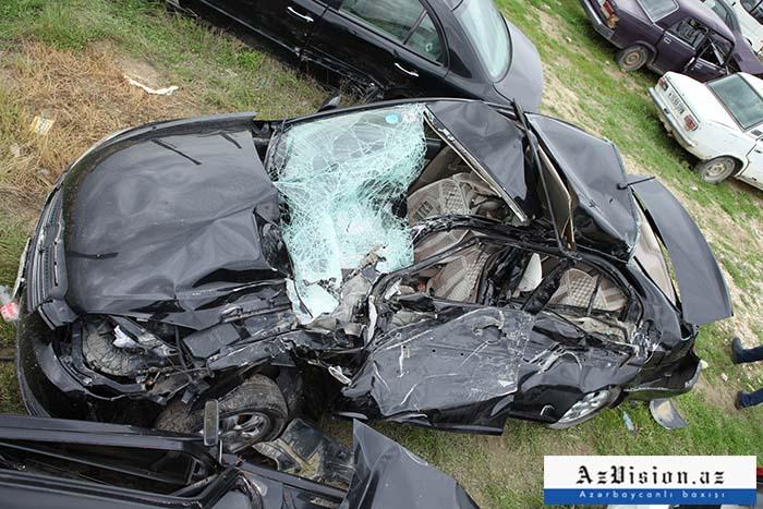 Yol qəzalarının 10 aylıq statistikası: 585 ölü, 1383 yaralı