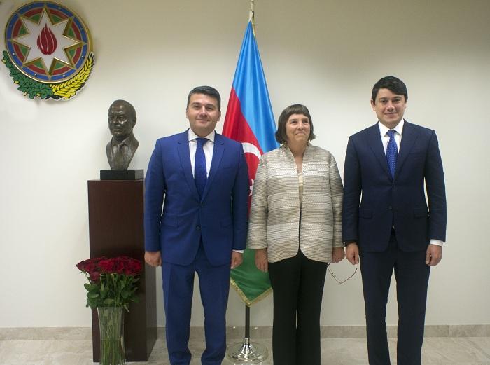 Fuad Muradov türk və yəhudi diaspor rəhbərləri ilə görüşüb