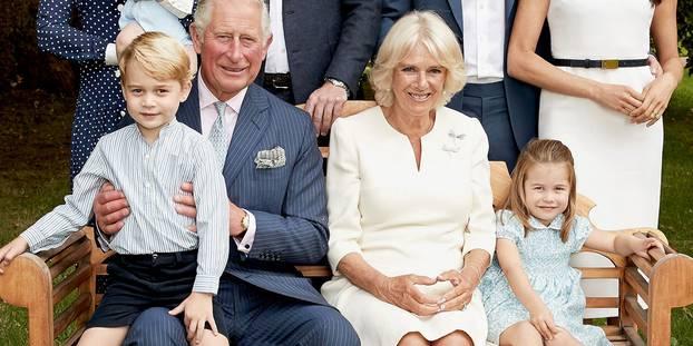 Le prince Charles célèbre ses 70 ans à Buckingham Palace