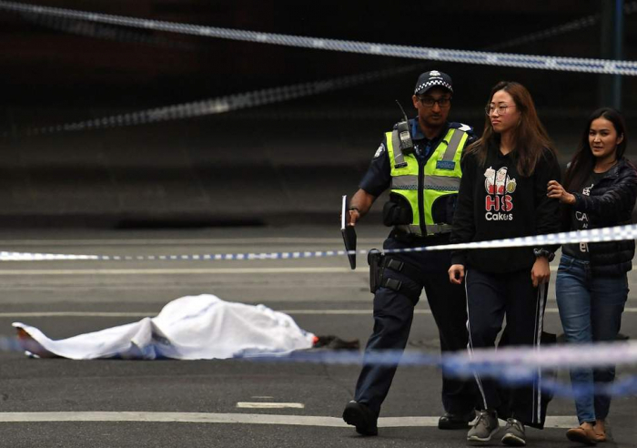 Melbourne attack: Knife-wielding man kills one person and leaves two injured