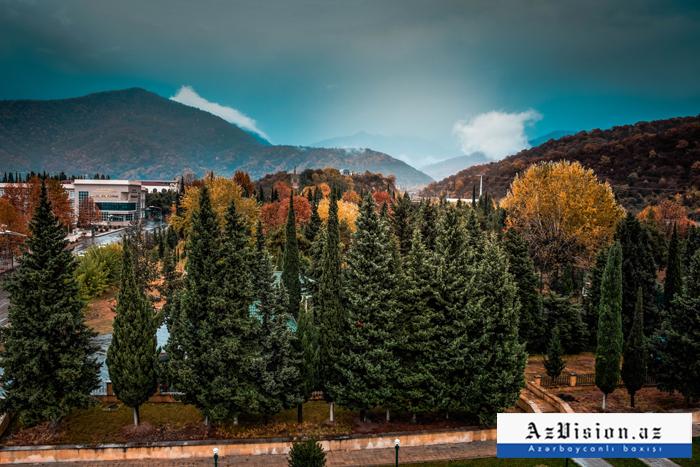 خريف جزء الشمال الغربي لاذربيجان  - الصور