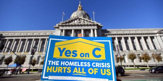 San Francisco : vote pour une taxe sur les grandes entreprises pour aider les SDF