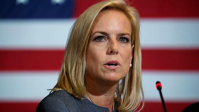 Wirft Trump die Heimatschutzministerin raus?