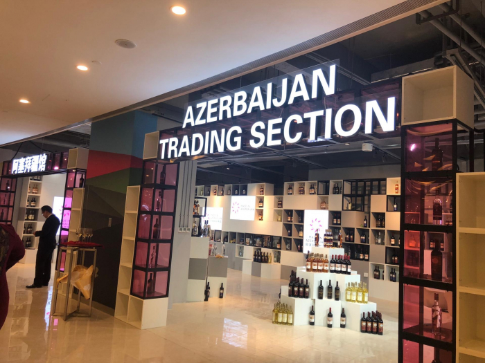 Azerbaijani products go on sale in China