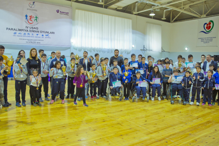 Azercell-in dəstəyi ilə Uşaq Paralimpiya oyunları keçirilib
