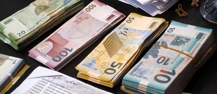 Azerbaijani currency rates for Nov. 22