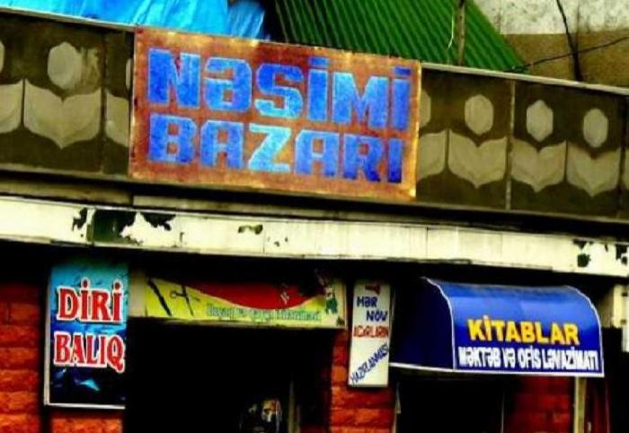 """""""Nəsimi bazar""""ı sökülür - VİDEO"""