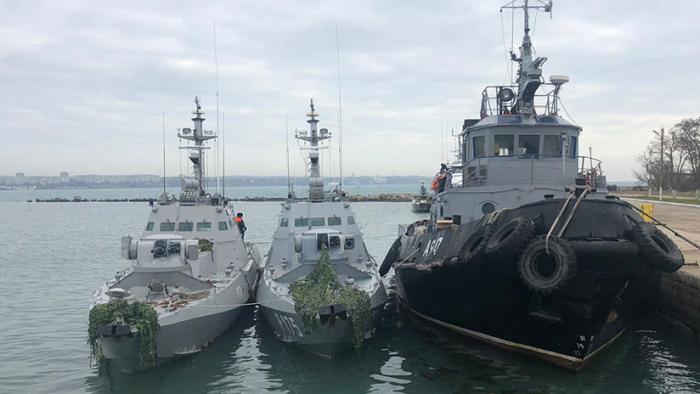 Ucrania confirma que en los barcos apresados por Rusia había agentes de los servicios especiales