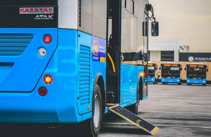 160 nömrəli marşrutun avtobusları dəyişdi - FOTO
