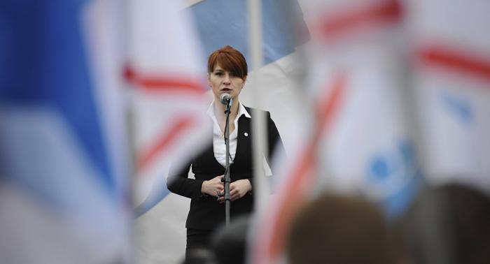 La rusa Bútina retira moción para desestimar los cargos en su contra en EEUU