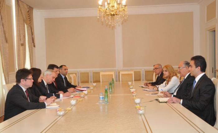 Chairman of Supreme Court met COE delegation