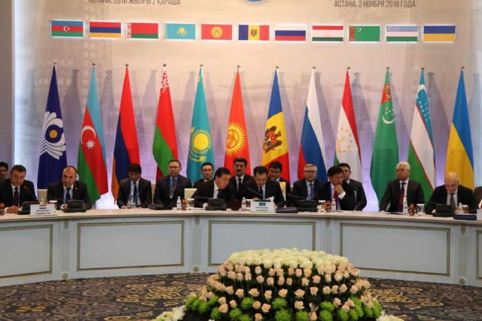 Astana hosts session of CIS Heads of State Council