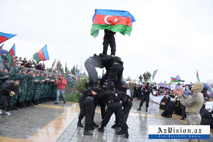 Kəşfiyyatçılarımızın nümunəvi çıxışları - FOTOLAR