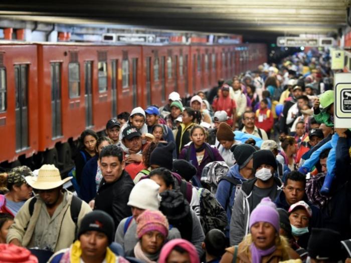Quelque 5.000 migrants de la caravane reprennent leur marche vers les Etats-Unis