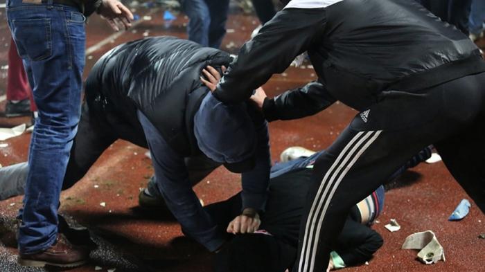 Moskvada kütləvi dava - 7 erməni həbs olundu