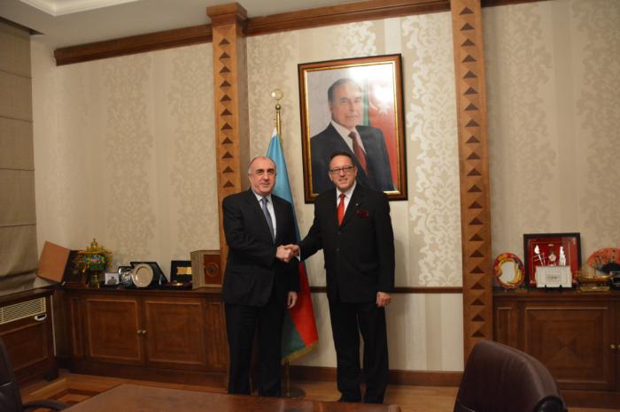 Mammadyarov a reçu le nouvel ambassadeurd
