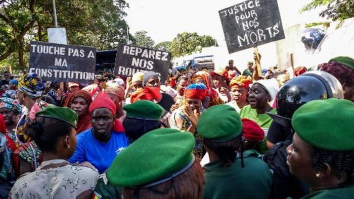 Guinée: deux morts dans une manifestation à Conakry