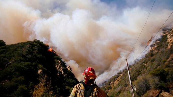 Los incendios en California - Sin Comentarios