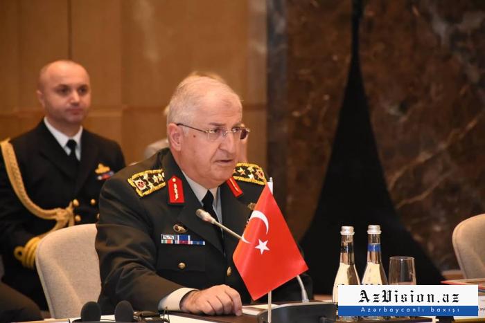 """Türkiyənin ordu generalı: """"Hərbi əlaqələrimizi daha da artırmalıyıq"""""""