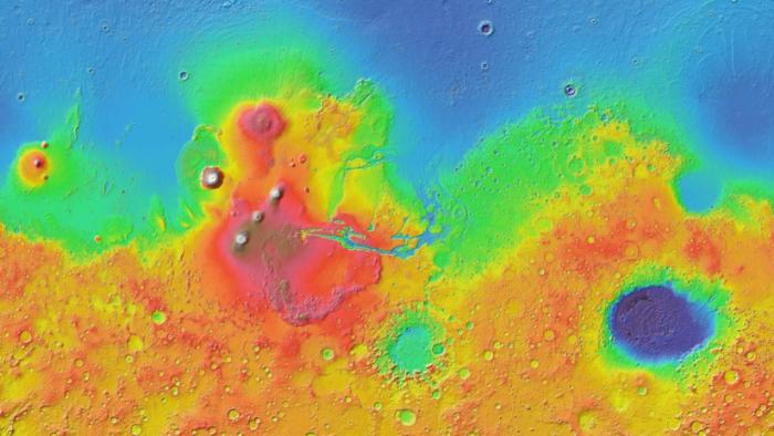 Google Mars: Crean un preciso mapa virtual que permite explorar el planeta rojo