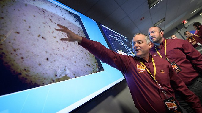 Nasa-Roboter landet auf dem Mars