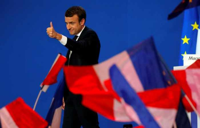 French President Emmanuel Macron proposes creation of
